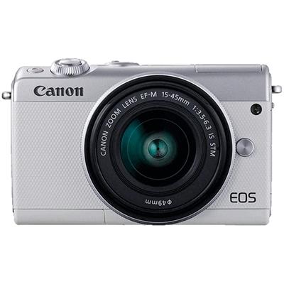 3d0dbd3748c43 CAMARA DIGITAL REFLEX CANON EOS M100 + M15-45 S  CMOS  24.2MP  DIGIC 7   FULL HD  WIFI  NFC  BLUETOOTH  BLANCO