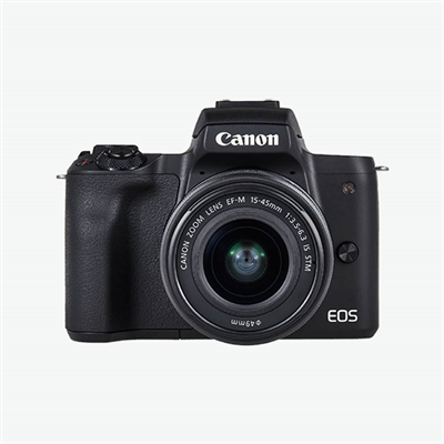 a902ad3b07234 CAMARA DIGITAL REFLEX CANON EOS M50 M15-45 S  CMOS  24.1MP  DIGIC 8  VIDEOS  4K  WIFI  NFC  BLUETOOTH  NEGRO