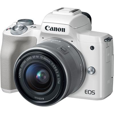 23a09d79b7c3c CAMARA DIGITAL REFLEX CANON EOS M50 M15-45 S  CMOS  24.1MP  DIGIC 8  VIDEOS  4K  WIFI  NFC  BLUETOOTH  BLANCO