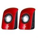 Genius 31731006101 - Altavoz Sp-U115 1.5W Usb Powered Red - Tipología De Uso: Pc - Portatil; Portátil: Sí; Pote