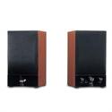 Genius 31731022100 - Altavoces Sp-Hf1250b 40W Wood Volume Control Madera - Tipología De Uso: Pc - Laptop - Tabl