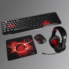 Mars Gaming MACP1, Pack Gaming Teclado, Ratón, Auriculares y