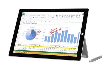 Microsoft QF2-00005 Srfc Pro3 128GBi5 Cmmr SC IT/PT/ES Hdwr ...