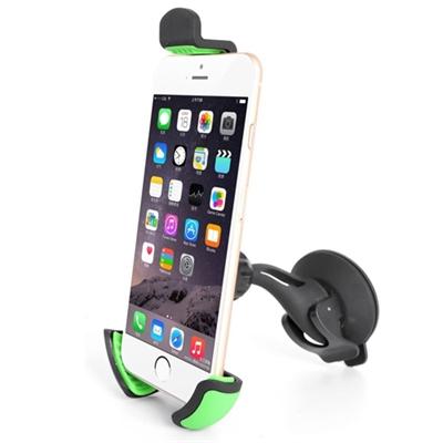 f502216a6fe Quick-Media QMSCV Soporte Universal de Parabrisas para Smartphone o  GPS.Compatible con Iphone
