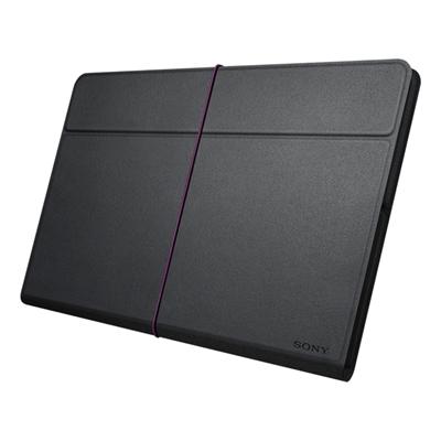 Sony sgpcv5 b ae funda negra de cuero para xperia tablet ordenadores tablets e books - Funda xperia z tablet ...