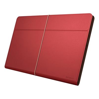 Sony sgpcv5 r ae funda roja de cuero para xperia tablet z ordenadores tablets e books - Funda xperia z tablet ...